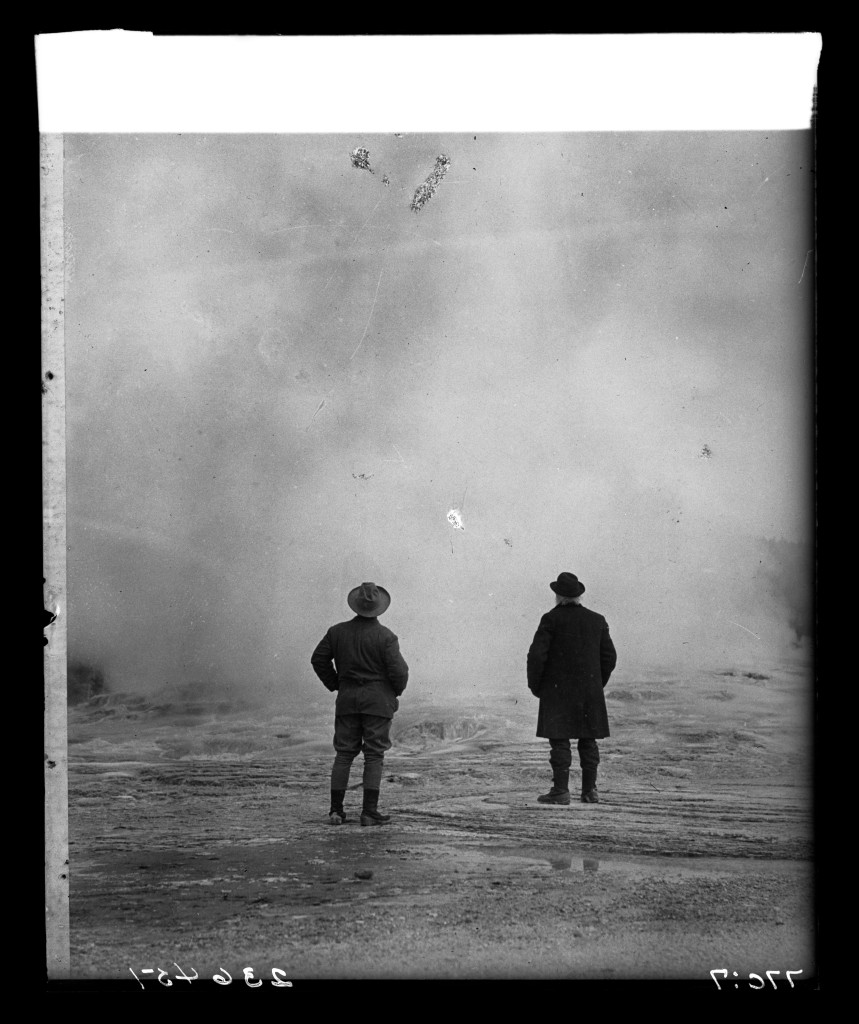 tr-and-john-burroughs-at-yellowstone