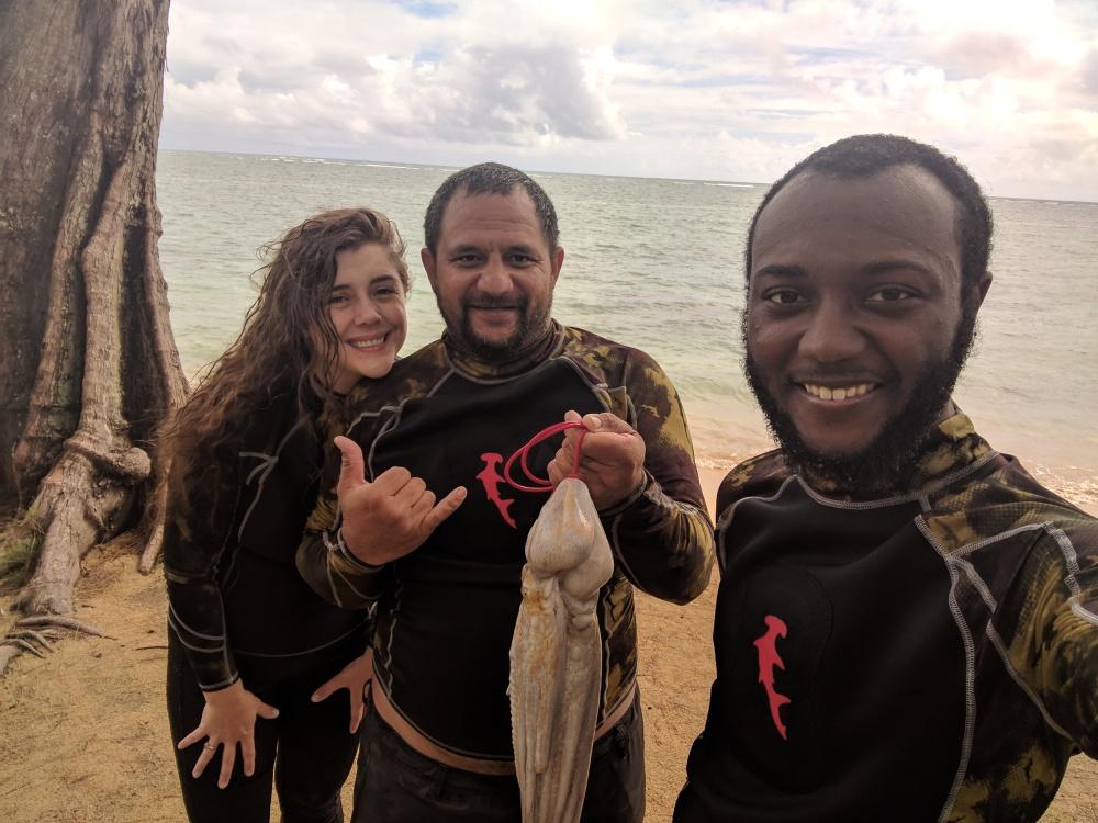 Molly_Divingfor_He'e (Octopus)